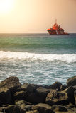 Coastguard ship Stock Images