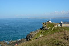 Coastguard station, Saint Ives, Cornwall, England Royalty Free Stock Photo