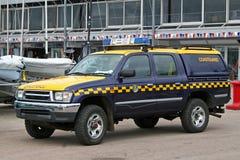 Coastguard van Royalty Free Stock Photo