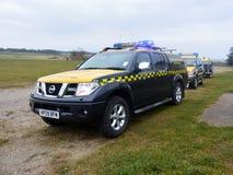 Coastguard vehicles at Bridlington East Yorkshire Royalty Free Stock Photography