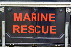 Coastguard vehicles at Bridlington East Yorkshire Royalty Free Stock Photo