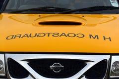 Coastguard vehicles at Bridlington East Yorkshire Royalty Free Stock Image