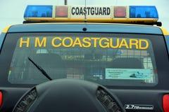 Coastguard vehicles at Bridlington East Yorkshire Stock Photography