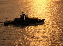 Coastguard Vessel Royalty Free Stock Photo