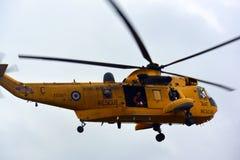 Coastguardmedel på Bridlington östliga Yorkshire Royaltyfria Foton