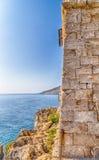 Coasting πύργος σε Salento στην ιόνια θάλασσα στοκ φωτογραφία με δικαίωμα ελεύθερης χρήσης