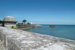 coastline关于圣徒的de马丁 免版税图库摄影