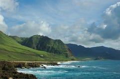 Coastline 02. West side of Oahu, Hawaii stock photos