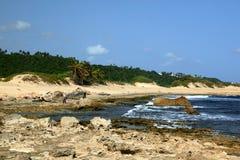 Coastline. At Isabela Puerto Rico Royalty Free Stock Photos