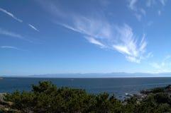 Coastline. Scenery of Vancouver Island stock photos