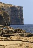 The coastline. At the Azure Window Stock Photo