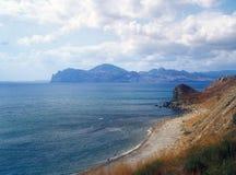Coastline. View of coastline near Feodosia, Crimea, Ukraine Stock Photo