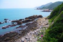 Coastline with. Beautiful coastline at south china Stock Photography