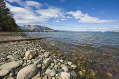 Coastline. Of Lake Tahoe California Royalty Free Stock Photo