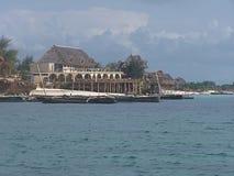 Coastline. Zanzibar coast royalty free stock photography