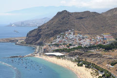 Coastline aerial view. Tenerife, Spain Stock Images