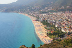 Coastline in Alanya Royalty Free Stock Image