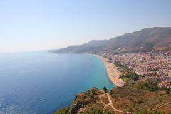 Coastline in Alanya Royalty Free Stock Images