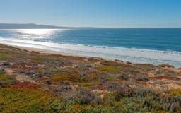 Coastline. Along California State Route 1. Coastline Royalty Free Stock Images
