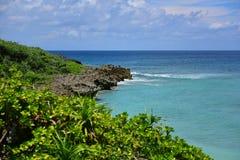 Coastline along Kouri Island Royalty Free Stock Image