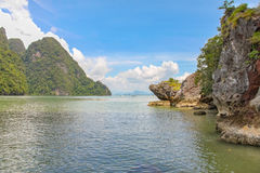 The coastline of the Andaman sea Stock Image