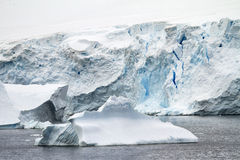 Coastline Of Antarctica Royalty Free Stock Images
