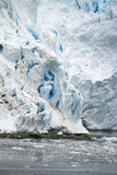 Coastline of Antarctica - Global Warming - Ice Formations Stock Image