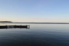 Coastline in archipelago Stock Images