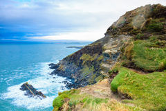 Coastline atlantic coast County Cork, Ireland Stock Photo