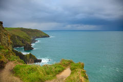 Coastline atlantic coast County Cork, Ireland Royalty Free Stock Image