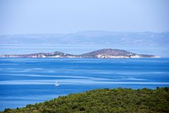Coastline on Ayvalik Turkey Royalty Free Stock Photography