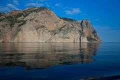 Coastline of Balaklava (Crimea, Ukraine) Royalty Free Stock Photography