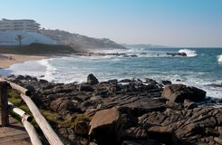 Coastline of Ballito, Kwa Zulu Natal, South Africa Stock Image