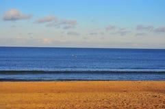 Coastline. Of Baltic Sea, 3 layers Sand, Sea, Sky Stock Photography