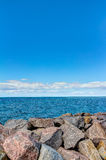 Coastline of the Baltic Sea in summer Royalty Free Stock Image