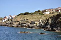 Coastline of Banyuls-sur-Mer in France Stock Photo