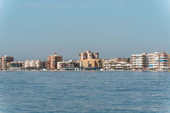 Coastline beaches in Torrevieja, Spain Stock Images