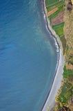 Coastline below Cabo de Girao Royalty Free Stock Photography