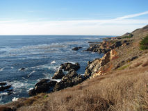 Coastline at Big Sur, California Stock Photos