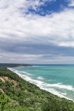 Coastline on the Black sea, Bulgaria Royalty Free Stock Images