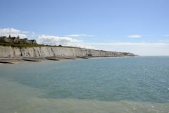 Coastline at Brighton. Sussex. England Stock Photography