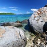 Coastline in British Virgin Islands Stock Image