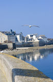 Coastline in brittany Royalty Free Stock Images
