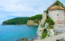The coastline of Budva Royalty Free Stock Photography