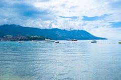 The coastline of Budva Stock Photos