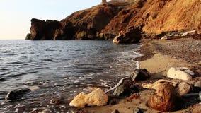 Coastline stock footage