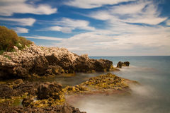 Coastline at Cap Antibes Royalty Free Stock Image
