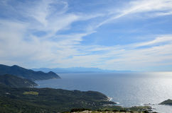 Coastline of Cap Corse Royalty Free Stock Photo