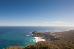 Coastline at the Cape of Good Hope Stock Photos