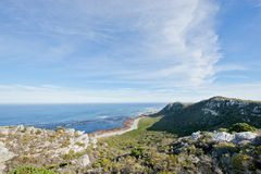Coastline at the Cape of Good Hope Royalty Free Stock Photo